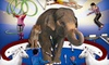 Super Spring Break Circus - Downtown Winnipeg: $76 for 4 Tickets to the Super Spring Break Circus at MTS Centre March 26 or 27 (Up to $134 Value). 3 Shows Available.