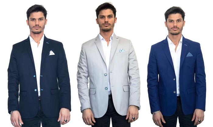 Giacca Da Camera Uomo Prezzo : Giacca da uomo blazer groupon goods