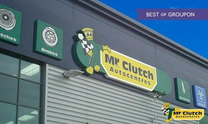 Mr Clutch Autocentres: Air Conditioning Recharge and Antibacterial Clean at Mr Clutch Autocentres, 36 Locations (49% Off)