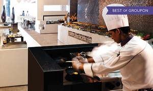 Rosewater-Jumeirah at Etihad Towers: Breakfast, Lunch, or Dinner Buffet with Drinks for Up to Six at Rosewater-Jumeirah at Etihad Towers (Up to 55% Off)