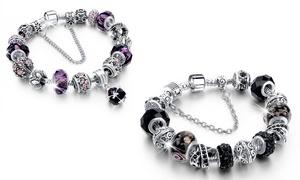 Bracelet charm's Swarovski®