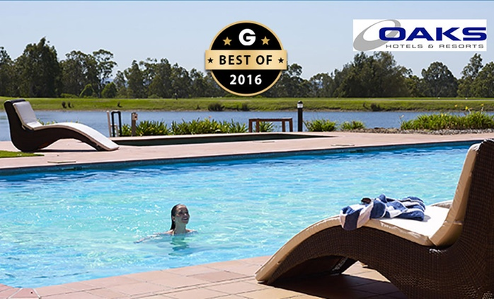 Hunter Valley, Pokolbin: Two- or Three-Night Stay for Two, Four or Six People at Oaks Cypress Lakes Resort