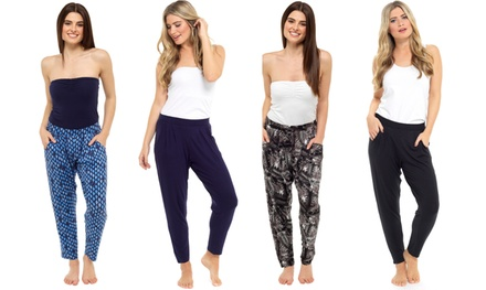 One or Two Pairs of Womens Casual Harem Pants