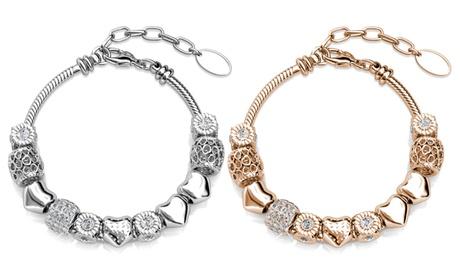 1 ou 2 bracelets de la marque Her Jewellery ornés de cristaux Swarovski®
