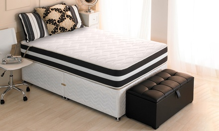 Quilted 3D Memory Sprung Mattress