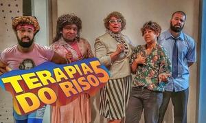 Espetáculo Terapia do Riso: Terapia do riso 5 – Teatro Miguel Falabella: ingresso individual