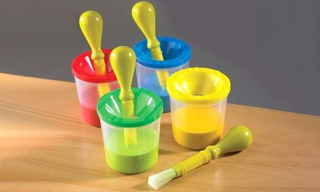 Discovery Kids No-Spill Paint Pot and Brush Set 93279dae-a82c-11e6-b324-00259060b5da
