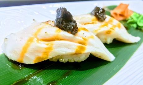 Menú degustación de comida japonesa para 2 o 4 personas desde 39,90 € en Wasabi Sushi Donostia Oferta en Groupon