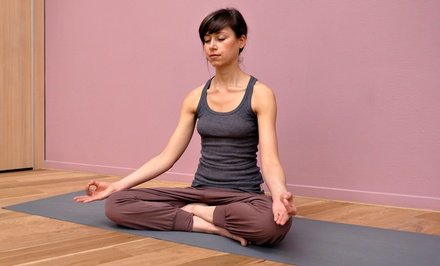 Five Drop-In Yoga Classes or One Month of Unlimited Yoga Classes at Free Spirits Yoga (Up to 65% Off)