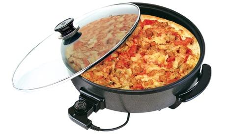 Cazuela eléctrica multifunción Pizza-Paella JRD