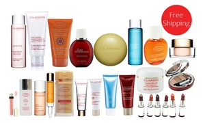 Save 80% off Clarins skincare, body and beauty products from $9+ free shipping at Groupon.