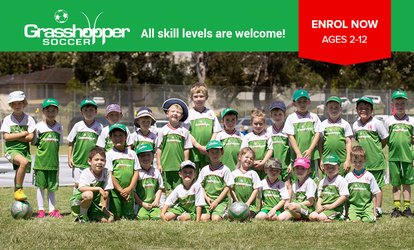 85% off Kids Soccer Training Sessions