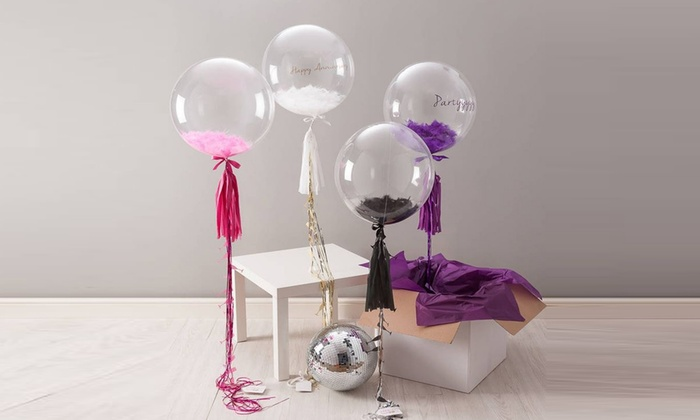 """Clear 18"""" Helium Balloons for DIY Projects (3-, 5-, ..."""