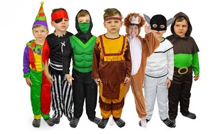 Costumi di Carnevale per bambini disponibili in vari modelli e misure