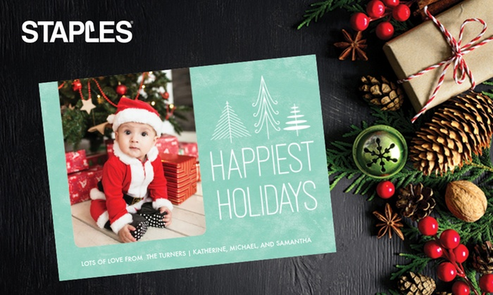Staples multiple locations custom holiday cards from staples up to