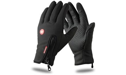 Softshell Unisex Handschuhe in der Größe nach Wahl mit Touchscreen-Funktion