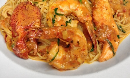 Cajun-American Food for Dine-In for Two or Carry-Out from The Meyersville Inn (Up to 45% Off)