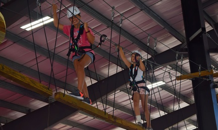 Ropes Course Adventure for One or Two at Buffalo RiverWorks (Up to 37% Off). Four Options Available.