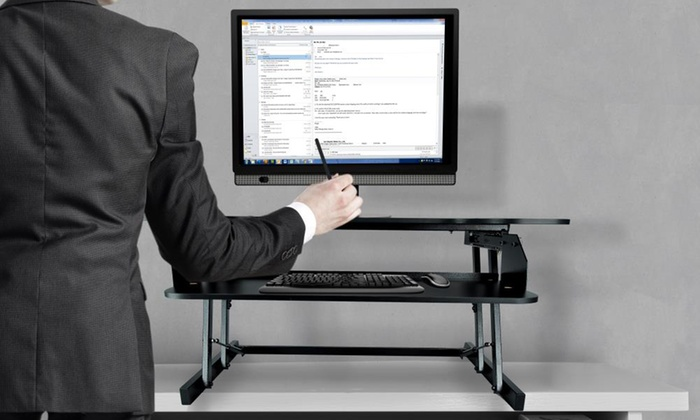 Adjustable Sitting/Standing Desk Stands