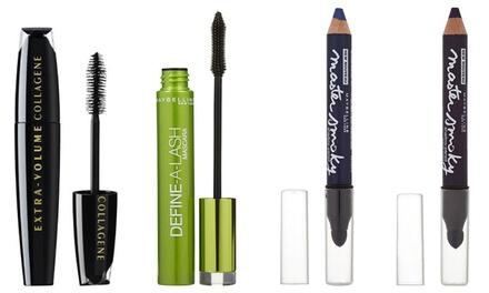 Lot de 3, 6 ou 9 mascara L'Oréal et Maybelline et crayon pour les yeux Maybelline au choix