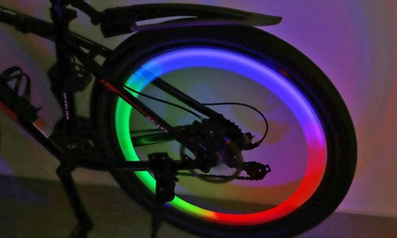 Two £3.98 or Four £4.99 Flashing Led Bicycle Wheel Lights