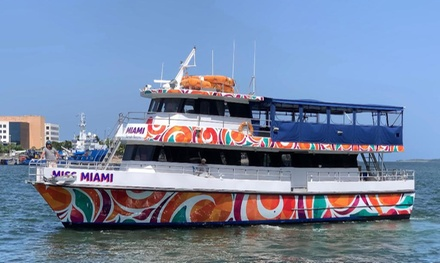 Celebrity Home Cruise or Disco Party Boat Cruise at Fiesta Cruises of Miami (Up to 44% Off)