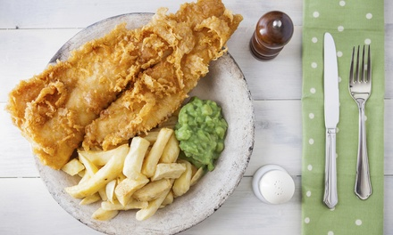 Fish and Chips with Soft Drink for One ($8), Two ($16) or Four People ($32) at Fishalicious (Up to $52 Value)