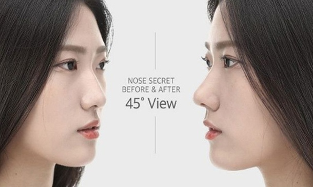 how to make your nose look narrower
