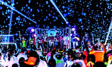 Race Entry for One or Two on Saturday, May 23 to the Blacklight Bubble Party 5K (50% Off)