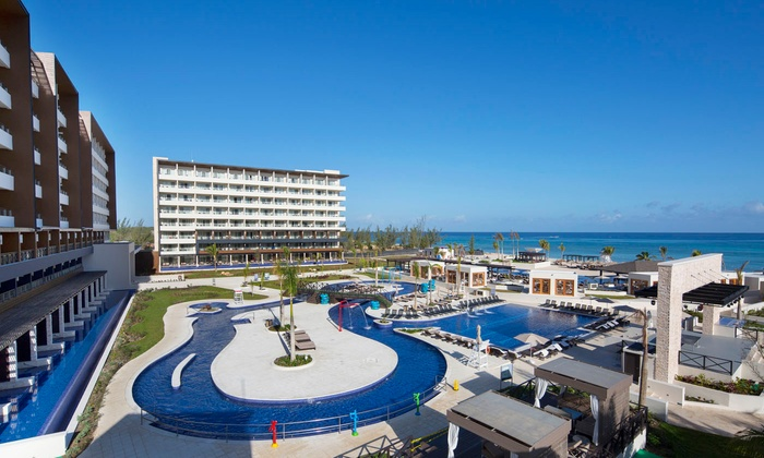 3-Night All-Inclusive Royalton Blue Waters Stay with Air from JetSet Vacations - Montego Bay, Jamaica: ✈ 3-NT All-Incls Royalton Blue Stay w/Air from JetSet Vacations. Price per Person Based on Double Occupancy.