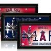MLB #1 Fan License Plate Clocks