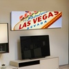 Panoramic Photography of Famous Signs on Gallery-Wrapped Canvas