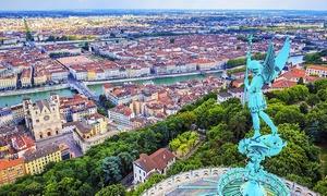 Lyon : 1 à 3 nuits avec pdj, cocktail et pack romantique en option Lyon
