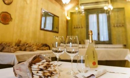 Menu piemontese da 4 portate con vino selezionato della cantina Castagnole al ristorante Martinet (sconto fino a 64%)