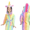 Kids' Unicorn Dressing Gown