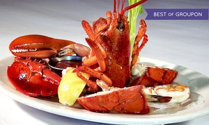 Fishermans Catch: Seafood, Steak, and Pasta at Fisherman's Catch (Up to 40% Off). Three Options Available.