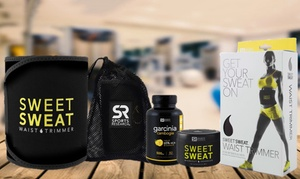 Sweet Sweat with Waist Trimming Belt and Garcinia Cambogia 60% HCA