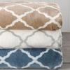 Polyester Velvet Luxe Cozy Printed Sheet Set