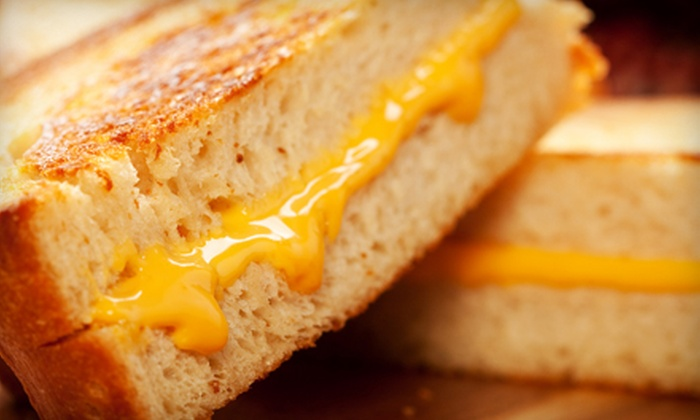 Lil Cheezers - Highlands: $5 for $10 Worth of Gourmet Grilled Cheese Sandwiches at Lil Cheezers