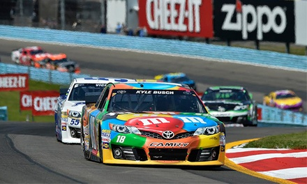Four-Day Package for the NASCAR Cheez-It 355 Racing Event at Watkins Glen International on August 6–9 (Up to 34% Off)