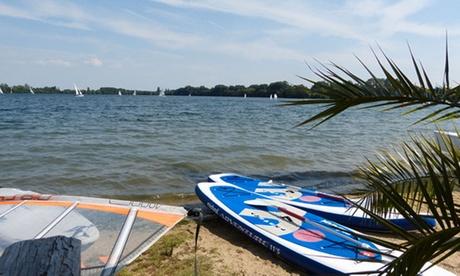 90 Min. Stand-Up-Paddling inkl. Board, Neopren und Einweisung bei Tim s Beach Wassersport