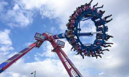 Three-Hour or All-Day Wristband Entry for Up to Four to Mega Value Fun Park Funfair (Up to 53% Off)
