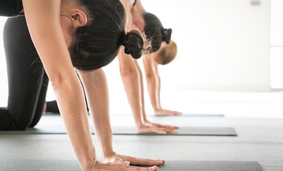 image for One or Two Months of Unlimited Yoga <strong>Classes</strong> at Yoga Six (Up to 54% Off)