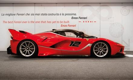 Test drive Ferrari con pranzo