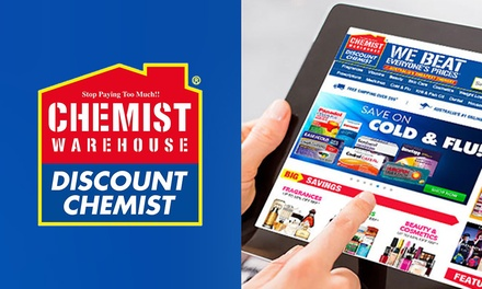 $10 Credit to Spend at Chemist Warehouse Online Existing & New Customers