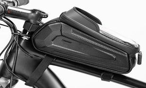 Étui smartphone tactile étanche pour vélo