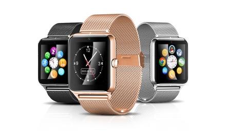 1 o 2 smartwatches con correa metálica