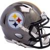Riddell NFL Chrome Speed Mini Helmet Pittsburgh Steelers