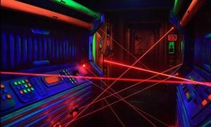 Monster Games Laser: 30 minutes de Défi Laser (1 à 9 personnes) à 19,99 € chez Monster Games Laser