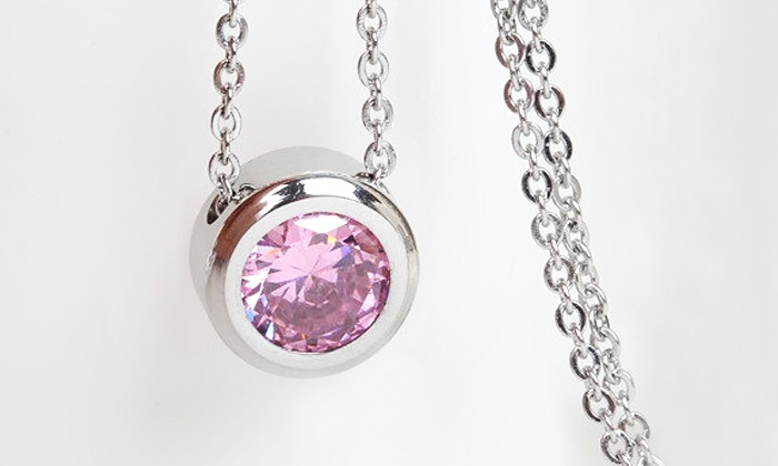 Balla Bracelets: $19 for One Crystal Halo Necklace from Balla Bracelets ($69.99 Value)
